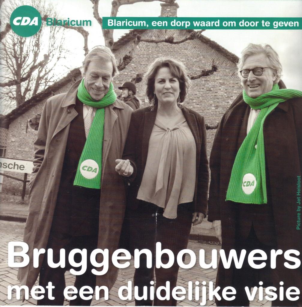 voorzijde flyer  CDA